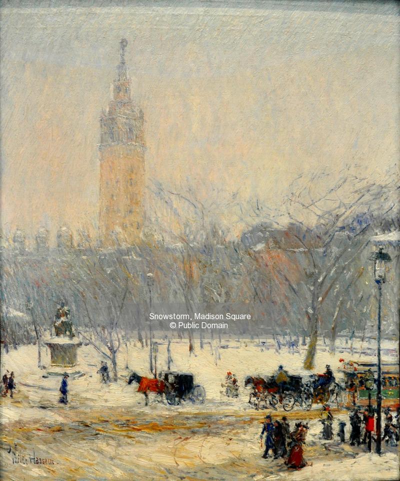 Snowstorm, Madison Square