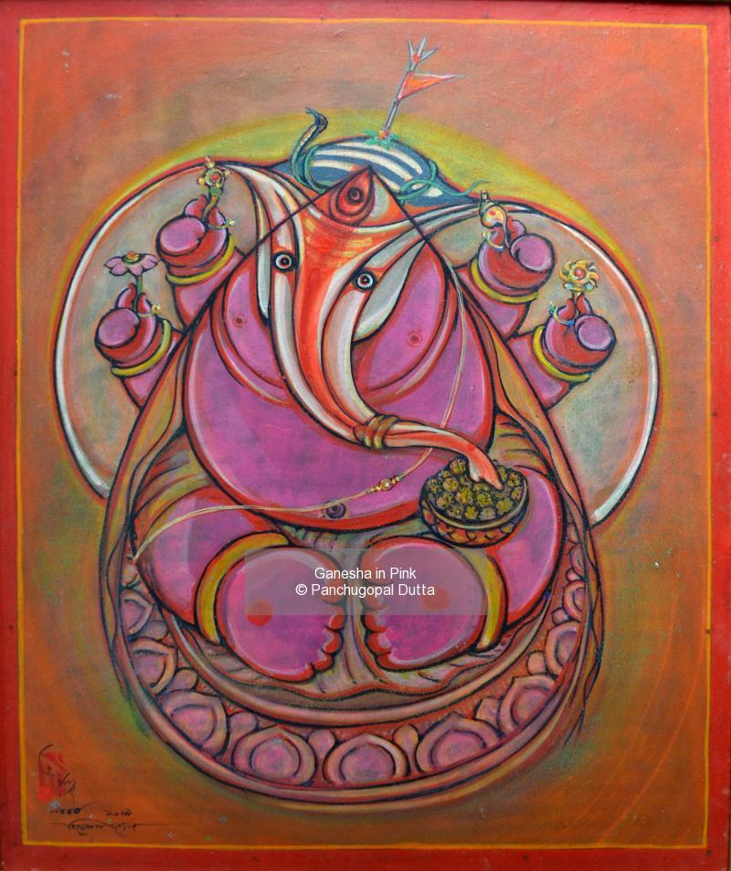 Ganesha in Pink