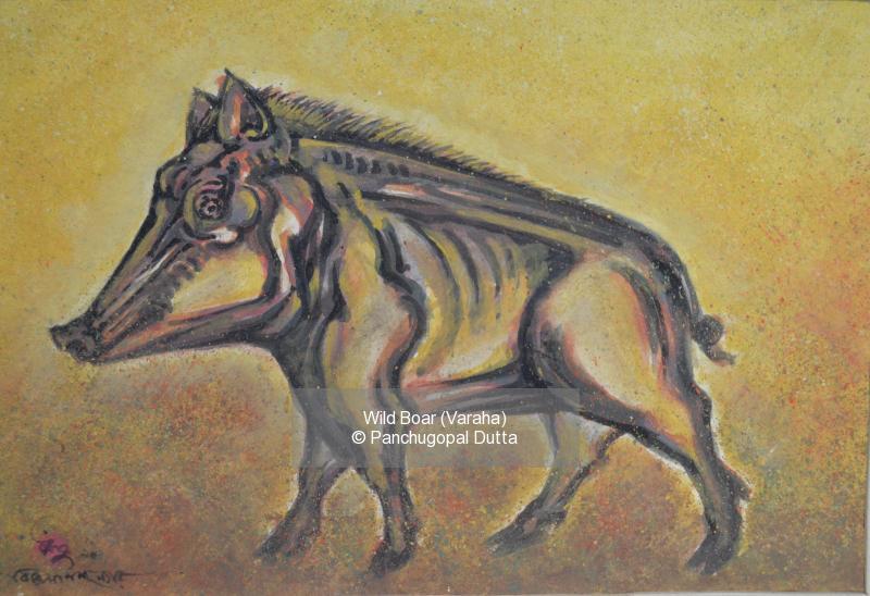 Wild Boar (Varaha)