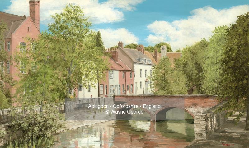 Abingdon - Oxfordshire - England