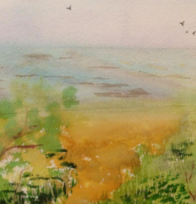 Lake Erie in June