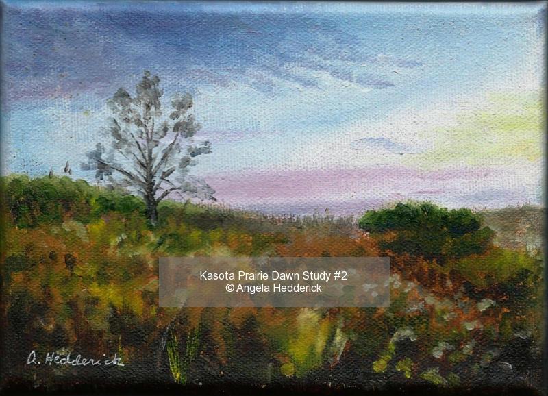 Kasota Prairie Dawn Study #2
