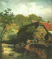 Watermill in Westphalia