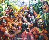 Uninhibited Celebrations of Holi