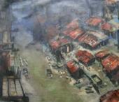 Calcutta cityscape