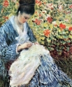 Camile Monet and a child