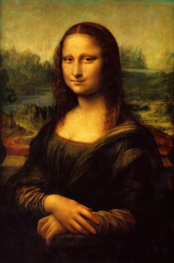 painting titled Monalisa