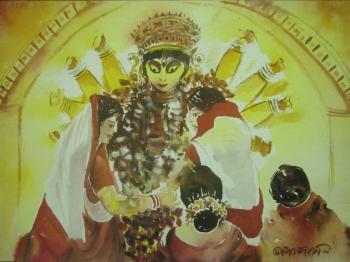 painting titled Chandi