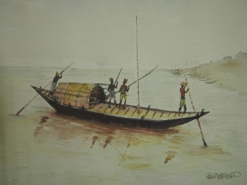 painting titled the crossing