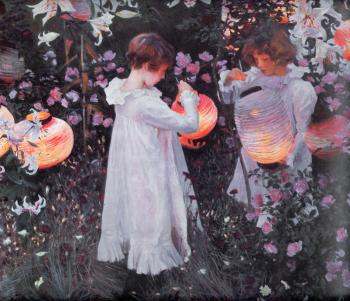 painting titled Carnation, Lily, Lily, Rose