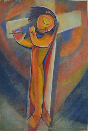 painting titled Khama (Forgiveness)