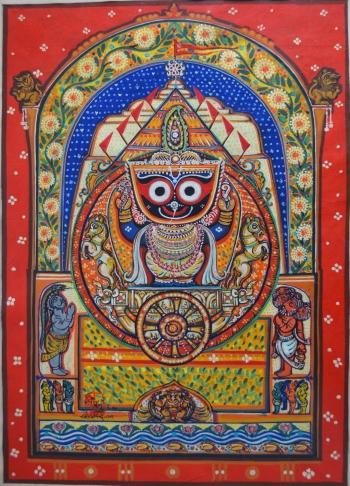 painting titled Sri Jagannath