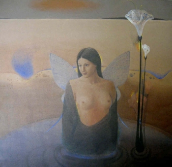 Acrylic on Canvas painting titled A Gentle Fantasy