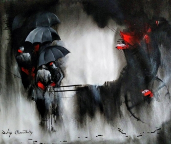 Acrylic on Canvas painting titled Courageous Crusaders