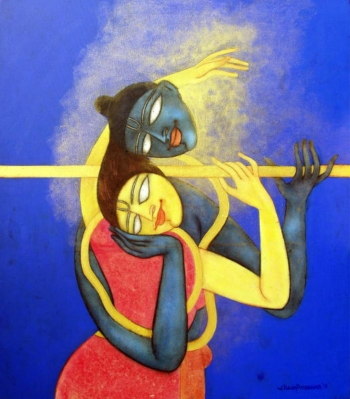 painting titled The Golden Flute