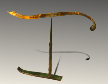 painting titled Bronze_steel Stabile