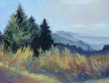 painting titled Carson Morning